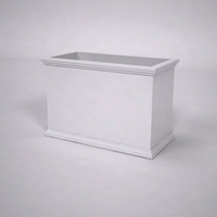Laguna Premier Composite Commercial Planter 36in.L x 18in.W x 24in.H