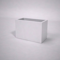 Urban Chic Premier Contemporary Planter 36in.L x 18in.W x 24in.H