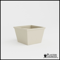 Tuscana Tapered Fiberglass Commercial Planter 36in.L x 36in.W x 24in.H