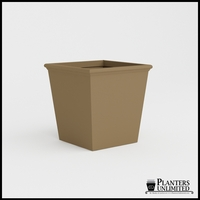 Tuscana Tapered Fiberglass Commercial Planter 36in.L x 36in.W x 36in.H