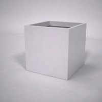 Urban Chic Premier Contemporary Planter 36in.L x 36in.W x 36in.H