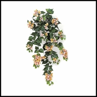 3' Outdoor Artificial Bougainvillea- Peach/Pink/Cream