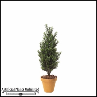 3' Outdoor Artificial Podocarpus