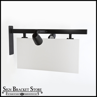 """36"""" Palisades w/ Square Corner Sign Blank Kit (everything included)"""