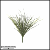 36in. Plastic Reed Bush - Green|Indoor