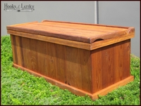 "36"" Redwood Deck Box"