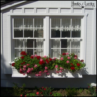 "36"" Royal Vinyl Window Box"