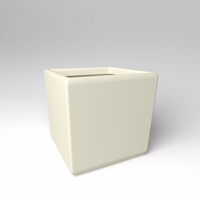 "36"" Square x 36""H Naples Square Planter"