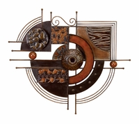 """36""""W x 32""""H Eclectic Iron Wall Decor"""
