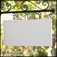 "36"" x 18"" Rectangle Sign Blank - Square Corners"