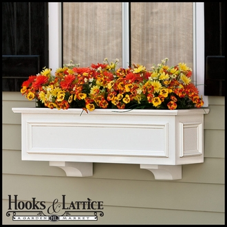 "36"" XL Panel Premier Window Box w/ *Easy Up* Cleat Mounting System"