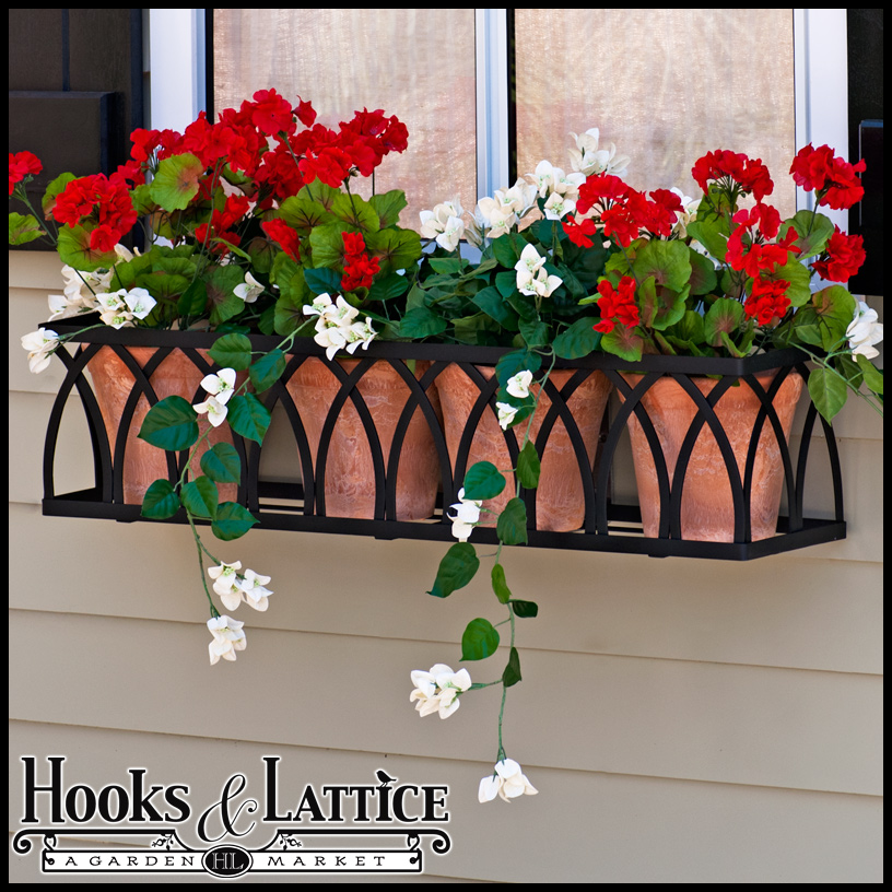 Arch Window Box Cage Click To Enlarge