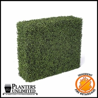 Boxwood Fire Retardant Artificial Hedge 36in.L x 12in.W