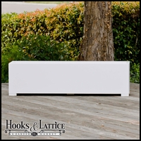36in. Urban-Chic Premier Deck Planter w/ Feet 12in. W x 12in. H