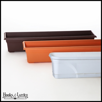 36in. Venetian Decora Window Box w/ Vinyl Liner