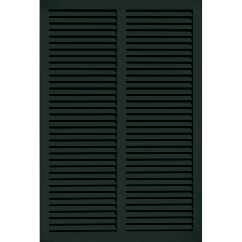 36in wide architectural fiberglass bahama shutter w hardware kit for Hardware for exterior shutters