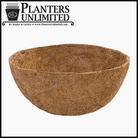 36in. XL Mega Hanging Basket Replacement Liner - Coco Coir