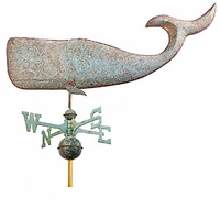 "37"" Large Whale Weathervane"