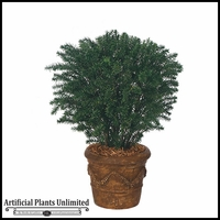 37in. Outdoor Artificial Taxus Yew