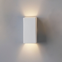 "4.5""  Ceramic Block Sconce"