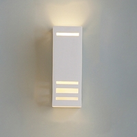 "4.5"" Geometric Rectangle Sconce w/ Contemporary Lines"