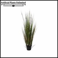 4', 5' or 6' Onion Grass w/ Red Bamboo