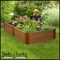 "4'x8'x18"" Raised Garden featuring Composite Lumber"