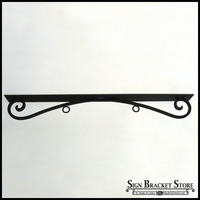 "40"" Lyon Ceiling Mount Sign Bracket"