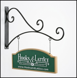 "40"" Milano Arch Hanging Blade Sign Bracket"