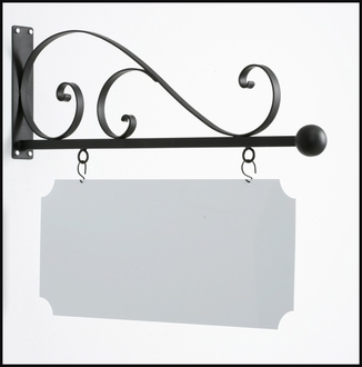 40in. Torino Elite Hanging Blade Sign Bracket