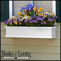 "42"" Laguna Premier Window Box w/ *Easy Up* Cleat Mounting System"