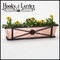 """42"""" Medallion Decora Window Boxes w/ Real Copper Liner"""