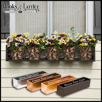 42in. Sonoma Ivy Aluminum Window Box