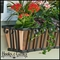 42in. Venetian Decora Window Box w/ Real Copper Liner