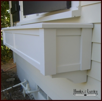 "42"" XL Hampton Premier Window Box  w/ *Easy Up* Cleat Mounting System"