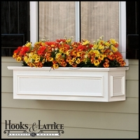 42in. XL Panel Premier Window Box w/ *Easy Up* Cleat Mounting System
