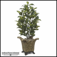42in. Acuba Plant Green
