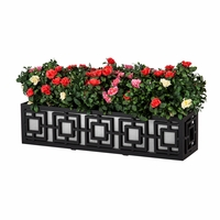 42in. Sofisticato Aluminum Window Box