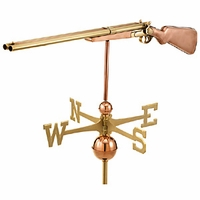 44in. Large Shotgun Weathervane