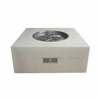 45in. Square Ready to Finish Fire Pit Kit - Push Button Flame Sense