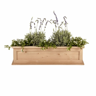 48in. Cedar Framed Cottage Window Box