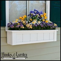 "48"" Coronado Premier Window Box w/ *Easy Up* Cleat Mounting System"