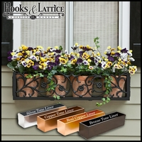 48in. French Quarter Aluminum Window Box