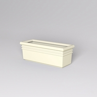 "48""L x 18""W x 18""H Orvieto Rectangle Planter"