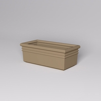 "48""L x 24""W x 18""H Orvieto Rectangle Planter"
