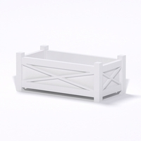 Main Street Premier Composite Commercial Planter 48in.L x 24in.W x 19in.H