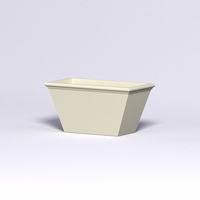Tuscana Tapered Fiberglass Commercial Planter 48in.L x 24in.W x 24in.H