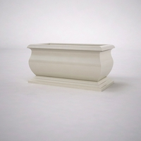 "48""L x 24""W x 24""H  Villagio Rectangular Planter"