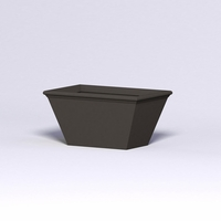 Tuscana Tapered Fiberglass Commercial Planter 48in.L x 30in.W x 24in.H
