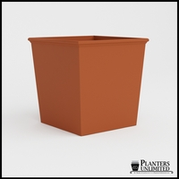 Tuscana Tapered Fiberglass Commercial Planter 48in.L x 48in.W x 48in.H